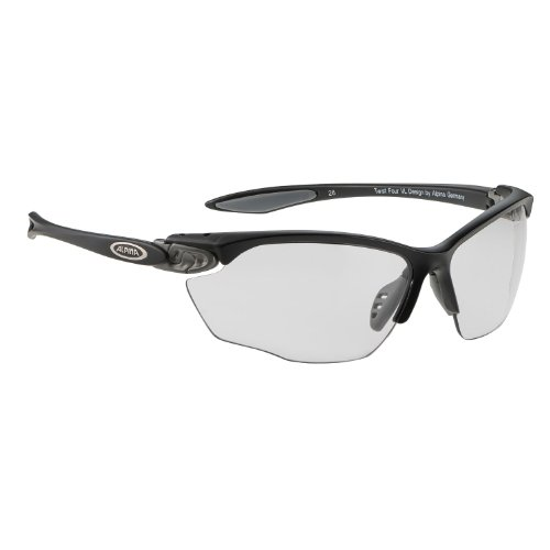 ALPINA Twist Four VL+ black matt 2018 Fahrradbrille