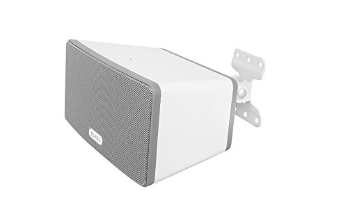 Allcam WSP3W Sonos play3 wall mount bracket for Sonos Play 3 speaker with tilt and swivel in White -