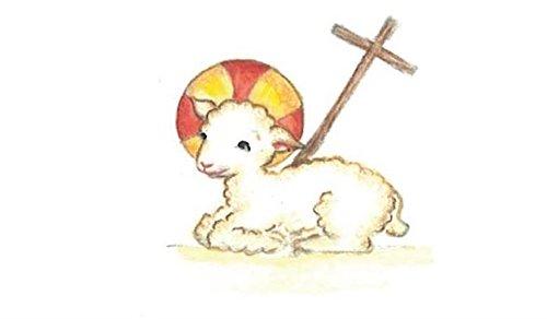 Image sainte Agnus Dei par lot de 10