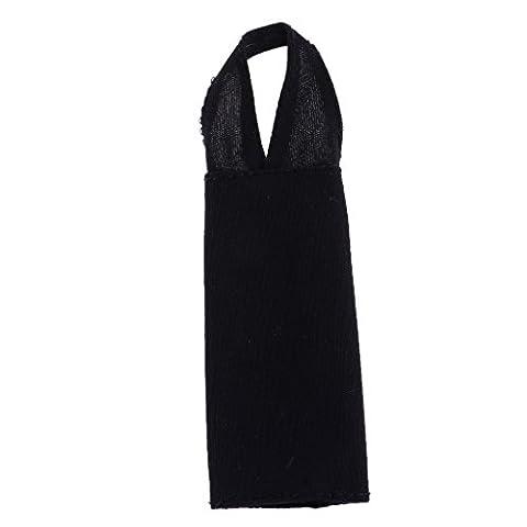 MagiDeal Poupée Vêtement Noir Robe de Soirée Mariage Bal Tenue Pour Barbie Dolls 6 Styles - # 6