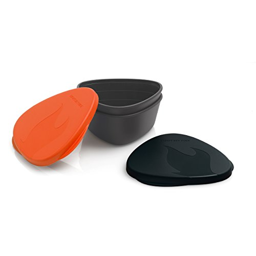 Light My Fire sans BPA étanche Snap Box pour la Nourriture de Stockage – Lot de 2