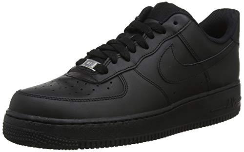 Nike Air Force 1 '07 , Scarpe da Ginnastica Basse Donna, Nero (Black/Black 038), 36 EU