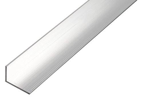 GAH-Alberts 499822 Winkelprofil - Aluminium, natur, 1000 x 30 x 15 mm