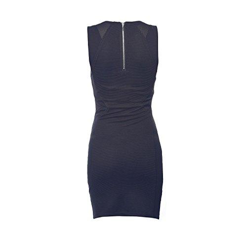 Deeluxe Damen Kleid blau Dunkelblau Dunkelblau