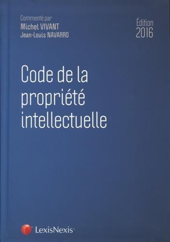 Code de la propriété intellectuelle