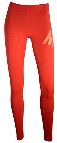 Nike W NSW LGGNG - Collant, Rosso S, Donna