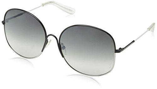 Marc Jacobs Damen MMJ 194/S Rechteckig Sonnenbrille, Grey White Frame/Gradient Grey