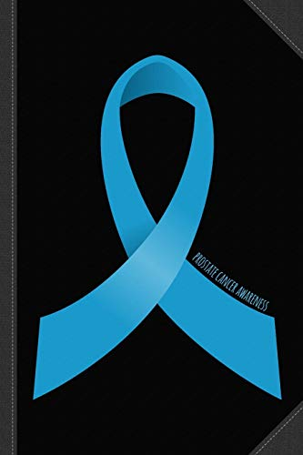 2ad42246 Prostate Cancer Awareness Ribbon Journal Notebook: Blank Lined Ruled For  Writing 6x9 120 Pages