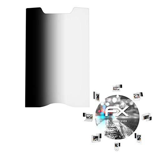 atFolix Blickschutzfilter kompatibel mit RugGear RG150 Blickschutzfolie, 4-Wege Sichtschutz FX Schutzfolie