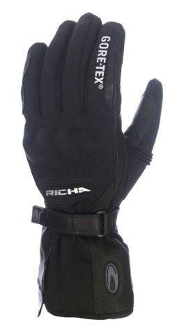 Richa Ice Polar Gore-Tex Motorcycle Gloves M Black