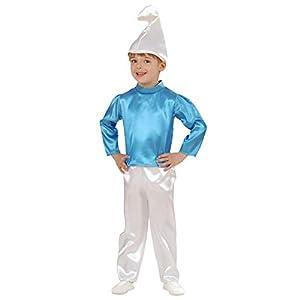 WIDMANN 49109 - Disfraz infantil de gnomos, gatitos y elfos, multicolor, 104 cm/2 - 3 años