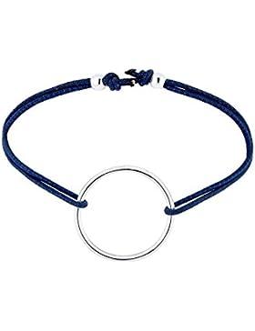 Elli Armband Kreis Geo elastisch 925 Silber