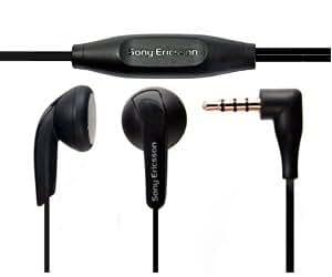 Sony Ericsson Headset casque micro Stereo MH410 noir pour Sony Ericsson Yendo, Sony Ericsson XPERIA X8, Sony Ericsson XPERIA X2, Sony Ericsson XPERIA X10 mini pro, Sony Ericsson XPERIA X10 mini, Sony