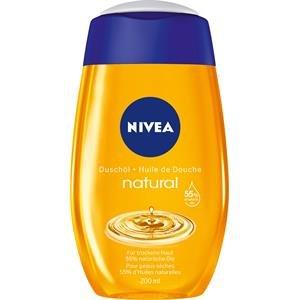 Nivea Natural Duschöl (1 x 200 ml), milde Reinigung für trockene Haut, mit natürlichen Ölen
