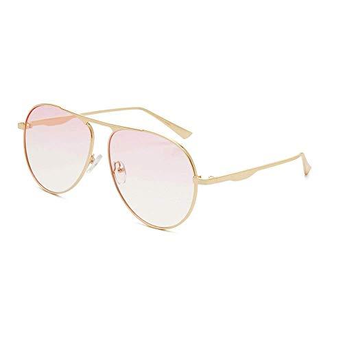 JFFFFWI Ofgcfbvxd-gla Mode Unisex Driving Sonnenbrille Aviator Polarized Metal Frauen Männer 100% UV-Schutz Sonnenbrille Für Männer \u0026 Frauen Ultraleicht (Farbe: Pink, Größe: Casual Größe)