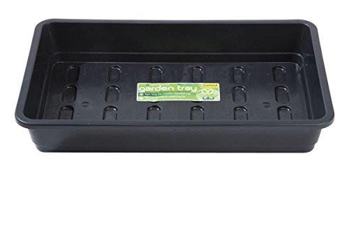 Garland Mini-serre sol, moyenne, noir, non perforés rectangulaire 37 x 22 x 6 cm