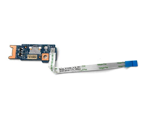 X-Comp Power Button Board mit Kabel ZSWAA LS-B302P für Toshiba Satellite C55-B C55d C55d-B C55t C55t-B Serie -