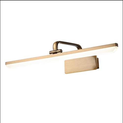 GuoEY Badezimmer-Eitelkeits-LED beleuchtet -15W Bad-Wandleuchten, die modernes Licht-Spiegel-Frontlampe-Front-Eitelkeits-Licht natürliches Licht beleuchten Badezimmerlicht (größe : 11w-53cm) (Eitelkeit Licht Natürliches)
