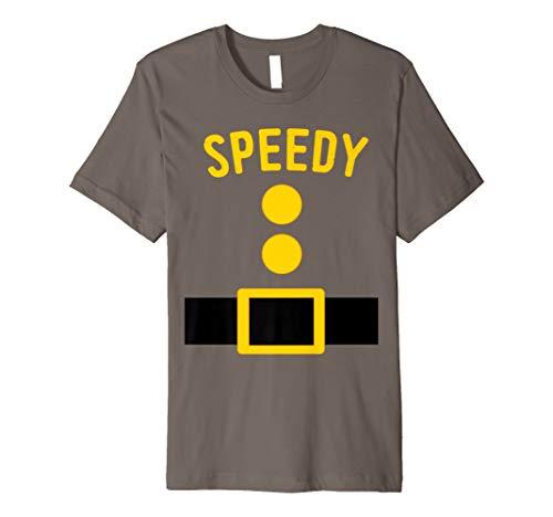 Speedy Zwerg Kostüm T-Shirt Funny Halloween Geschenk