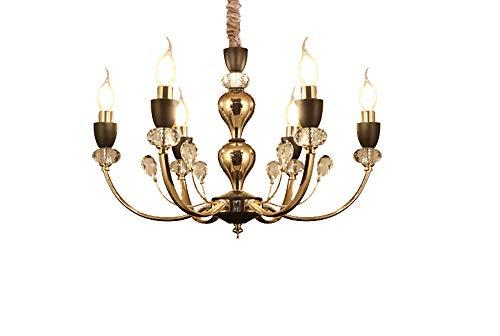 Kerzen-Art-Leuchter mit 6 Lichtern Metallunterputz-hängende Beleuchtung-Deckenleuchten -
