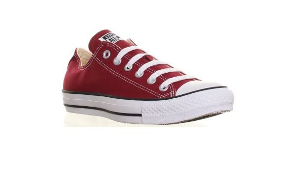 ed20d2c5a24a SV - Converse M9691 Unisex All Star Ox Canvas Trainers Mens Sizes Available  - Maroon