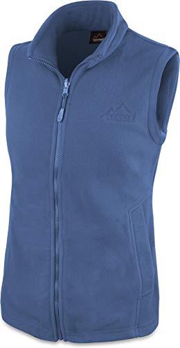 normani 280g Fleeceweste für Damen - Winddicht, leicht, warm, elegant Farbe Navy Größe S