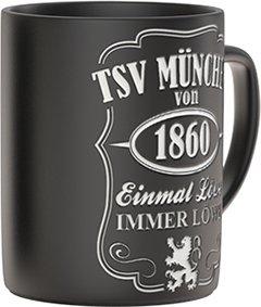 TSV 1860 München Kaffeetasse Black 0,3l