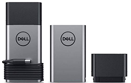 Dell Hybrid Adapter + Power Bank PH45W17-BA - 45W AC Adapter + Notebook Power Bank 43Wh (with 4.5mm and 7.4mm Tips) 9C76G