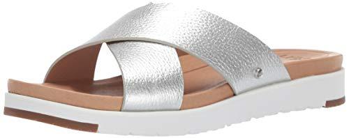 UGG Kari Größe 39 EU Silber (Silver) (Ugg Stiefel Silber)