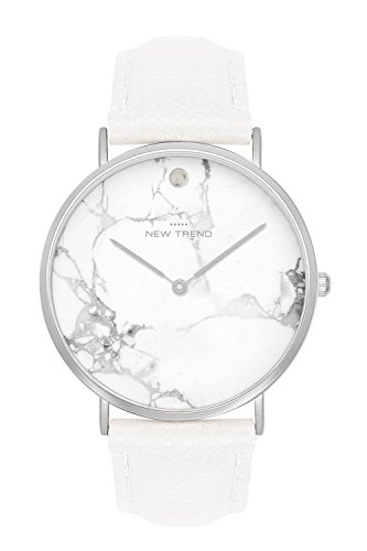 New Trend - Love for Accessories Damen Uhr analog Quarzwerk mit Kunst-Leder-Armband RA-ZW5R-TGZY -