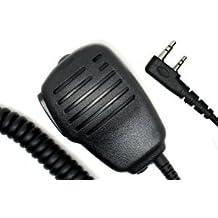 Solapa port¨¢til altavoz micr¨®fono Compatible para Kenwood Tk-308, Tk-3100, Radio Tk-3101, Tk-3102, Tk-3107, Tk-3118, Tk-3130, Tk-3131