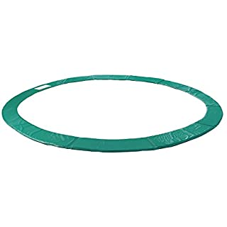 Arebos Trampoline Safety Pads / 6, 8, 10, 12,13, 15 or 16 ft/green (16 ft)