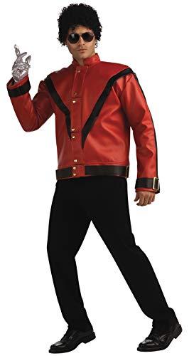 Michael Jackson Thriller Jacke für Erwachsene deluxe (Thriller Jacke Für Erwachsene Kostüm)