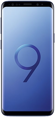 Samsung Galaxy S9 Smartphone (5,8 Zoll Touch-Display, 64GB interner Speicher, Android, Dual SIM) Coral Blue –  Deutsche Version