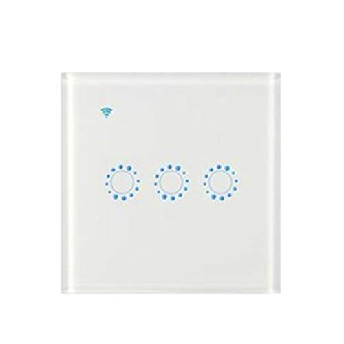 Sonoff Smart Touch WIFI APP pannelli chiaro della parete di vetro Timing Interruttore Retome Luce,bianca