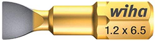 WIHA 70104DR0604525 DURABIT - PUNTA DE ATORNILLADO CON ZONA DE TORSION (RANURA  6 3 7010 DURA 1 2 X 6 5 X 25 MM)