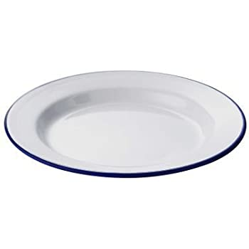 Lakeland Traditional Enamel 24cm Pie Plate  sc 1 st  Amazon UK & Lakeland Traditional Enamel 24cm Pie Plate: Amazon.co.uk: Kitchen \u0026 Home