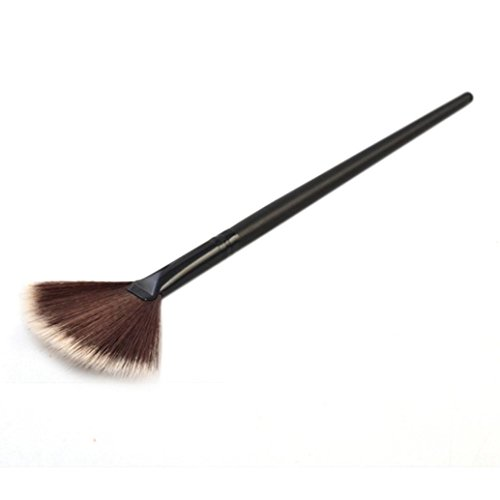 Fan-shaped Powder Brush, Xjp Professional Foundation Brushes for Women