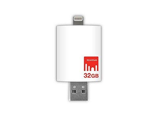 Strontium Nitro USB 3.0 32GB Pen Drive (White)