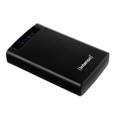 festplatte mit bluetooth Intenso Memory 2 Move externe Festplatte mit WiFi 500GB (6,4 cm (2,5 Zoll) 5400rpm, 8MB Cache, USB 3.0) schwarz