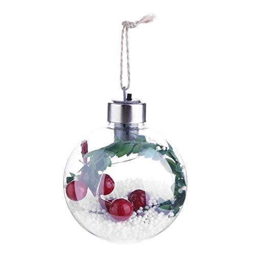 YouN LED Weihnachtsbaum Drop Ornamente Xmas Hanging Anhänger (Weihnachtskugeln-A) -
