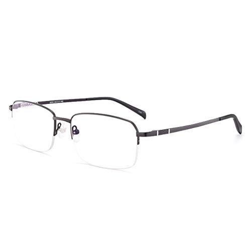 Axclg Reading glasses Intelligent Transition Photochromic Progressive Sonnenbrille, Federscharniere Ultraleichte Sonnenbrille Aus Reinem Titan FüR Herren Und Damen