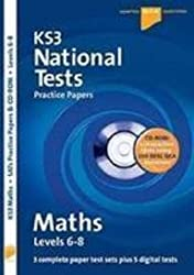 Letts Key Stage 3 Practice Test Papers – KS3 National Test Practice Papers Maths 6-8 QCA CD-Rom Tests: Level 6