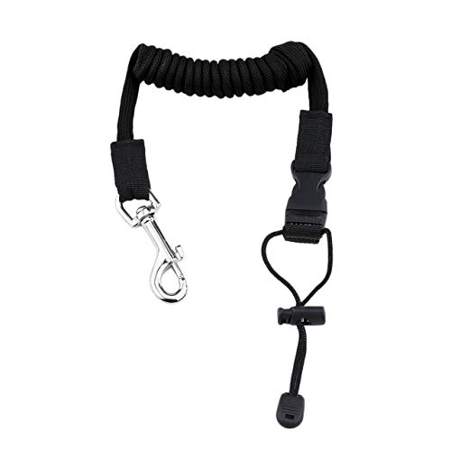 Features:The copper buckle helps to connect the leash to the kayak tightly.Elastic leash allows for free movement of your hands.Multifunctional use, it can be used for paddles, rods, net and other items that need to be secured while in the boat.It...