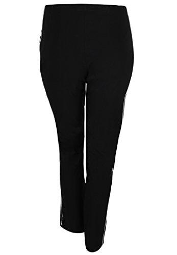 seeyou -  Pantaloni  - Basic - Donna Nero