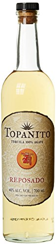 Topanito Reposado 100 Prozent Agave Tequila (1 x 0.7 l) (Tequila-agave, Eine Pflanze)