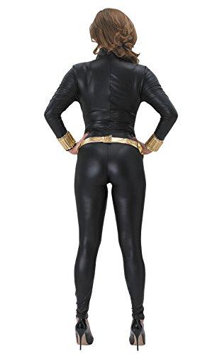 Kostüm Black Cat Damen - Rubie 's Offizielles Damen Marvel Widow Erwachsenen-Kostüm-Schwarz, XS