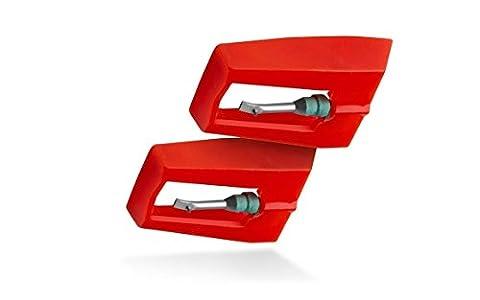 ION ICT09RS Lot de 2 aiguilles de rechange pour tourne-disques