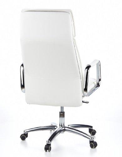 HJH OFFICE 600922 Bürostuhl / Chefsessel VILLA 20 Nappaleder elfenbein - 7