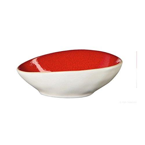 Bowl Red White